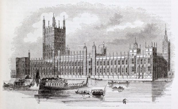 Westminster palota London